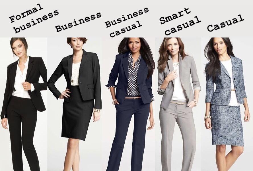 Professional dress code